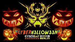 Party Flyer CyberHelloween 2019 Berlin 1 Nov '19, 23:00