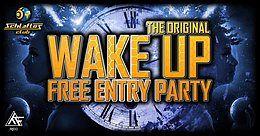 Party Flyer ☆* Wake Up *☆ W// Serix LIVE// D-Nation LIVE// Phazed LIVE 1 Nov '19, 22:00