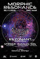 Party Flyer Morphic Resonance 2 Nov '19, 22:00