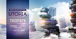 Party Flyer Utopia feat Tristate 8 Nov '19, 22:00