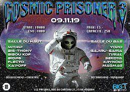 Party Flyer Cosmic Prisoner III 9 Nov '19, 19:00