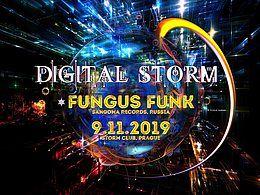 Party Flyer Digital Storm with Fungus Funk&Gappeq 9 Nov '19, 21:00