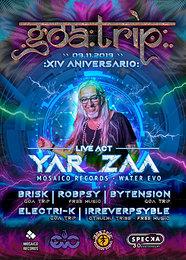 Party Flyer GOA TRIP - XIV Aniversario 9 Nov '19, 23:30
