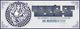 Party Flyer Spirit of Moksha 9 Nov '19, 23:00