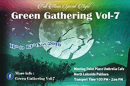 Party Flyer Green Gathering Vol-7 11 Nov '19, 11:30