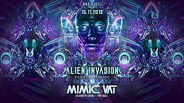 Party Flyer Alien Invasion with Mimic Vat 15 Nov '19, 23:00