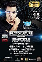 Party Flyer Protoculture live in Nepal 15 Nov '19, 21:00