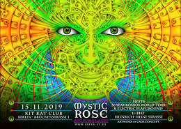 Party Flyer The Mystic Rose meets 30 Year KOXBOX Tour & Electric Playground 15 Nov '19, 23:00