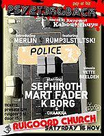 Party Flyer PSY2T3K&BACK 16 Nov '19, 22:00