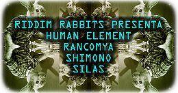 Party Flyer RIDDIM RABBITS 16 Nov '19, 23:00