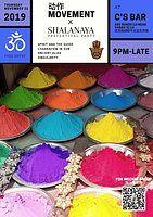 Party Flyer Movement动作 x Shalanaya Prefestival Party 21 Nov '19, 21:00