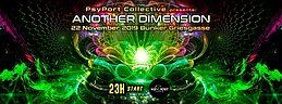 Party Flyer Another Dimension by PsyPort Collective 22. Nov. 19, 23:00