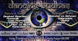 Party Flyer Dancing Budhas (2 Dancefloors) 22 Nov '19, 23:30