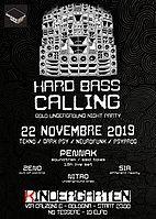 Party Flyer Hard Bass Calling #9 - Penn-Ak Live 1,5h 22 Nov '19, 23:00