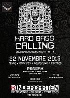 Party Flyer Hard Bass Calling #9 - Penn-Ak LiveSet 22 Nov '19, 23:00