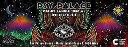 Party Flyer Psy Palace - Crispy Ländle Special ••• C³ 22 Nov '19, 22:00