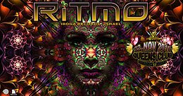 Party Flyer PSYBOX pres RITMO *live 22 Nov '19, 22:00