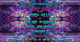 Party Flyer TNS: Psychedelic à la Carte (Novotech & Lick N Flip Live) 22 Nov '19, 23:00