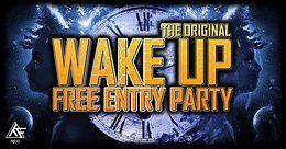 Party Flyer Wake Up / First TimeFloor Club 22 Nov '19, 22:00