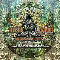 Party Flyer New Vision Festival ★ HH Teaser ★ 23 Nov '19, 23:00