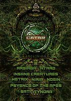 Party Flyer The Psychedelic Way & Catar Records label night 23 Nov '19, 23:00