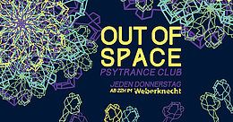 Party Flyer OUT of SPACE 28 Nov '19, 22:00