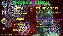 Party Flyer ENCELA2CREW PRESENTS: 29 Nov '19, 23:30
