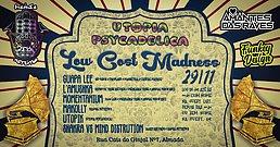 Party Flyer Hamsa Psytrybo & Utopia Psycadelica// Low Cost Madness Party #2 29 Nov '19, 23:00
