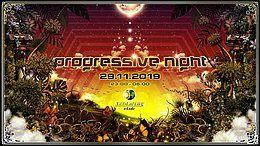 Party Flyer Progressive Night Ghost Rider & Talpa 29 Nov '19, 22:00