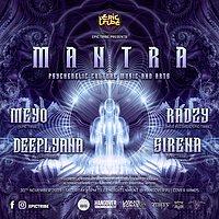 Party Flyer EPIC Tribe pres. MANTRA 30 Nov '19, 21:00