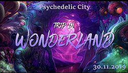 Party Flyer Psychedelic City - Trip in Wonderland 30 Nov '19, 22:00