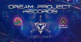 Party Flyer Psychedelic Gaff #19 Dream Project Records label night 30 Nov '19, 21:00