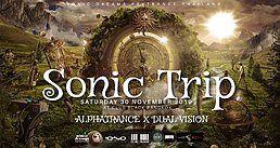 Party Flyer Sonic Trip : Alphatrance x Dual Vision 30 Nov '19, 21:30