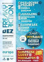 Party Flyer FREAKY FICTION 4 Dec '19, 23:00