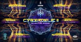 Party Flyer Cyberdelic II : Quantum Rising 6 Dec '19, 22:00