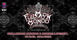 Party Flyer Fullmoon Mondo 6 hours Live Set 7 Dec '19, 17:00