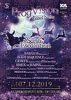 Party Flyer ★ PROGVISIONS SANTA LABELNIGHT ★ w/ Babalos, Boot Sequence, Cr3wfx, uvm. 7 Dec '19, 21:30