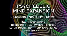 Party Flyer Psychedelic Mind Expansion mit NOK / Lorax Music 7 Dec '19, 22:00