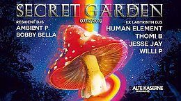 Party Flyer Secret Garden w/ EX Laby DJs 7 Dec '19, 23:00
