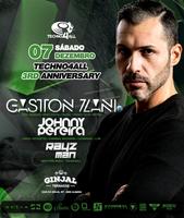 Party Flyer Techno4All 3rd Anniversary - Gaston Zani (ARG) - Free Party 7 Dec '19, 23:00