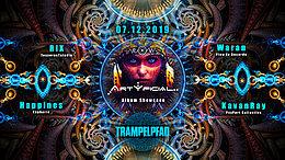 Party Flyer ☆Trampelpfad☆ Artyficial Album Showcase 7 Dec '19, 22:00