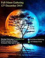 Party Flyer Full-moon Gathering 12 Dec '19, 01:00