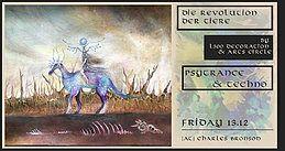 Party Flyer Die Revolution der Tiere 13 Dec '19, 22:00