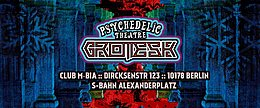 Party Flyer Grotesk ॐ by Psychedelic Theatre ॐ Christmas Edition 13 Dec '19, 23:00