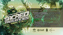 Party Flyer Sacred Frequencies w/ Sangoma Records 13 Dec '19, 23:00