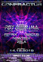 Party Flyer Confractus vol.9 w/ Psynonima 14 Dec '19, 21:00
