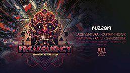Party Flyer Freakquency 2019 X1 Indoor Festival 14 Dec '19, 21:00