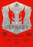 Party Flyer GoaMykoLash w Distorted Goblin 19 Dec '19, 20:00