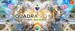 Party Flyer Quadrasonic Surround for the first time @ Rote Fabrik 20 Dec '19, 23:00