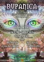 Party Flyer DuPaNiCa - Sonic Species & Gappeq live! //21.12. NMnV// 21 Dec '19, 21:00
